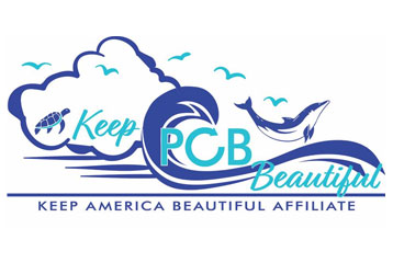 Community Beach Cleanup for Keep PCB Beautiful